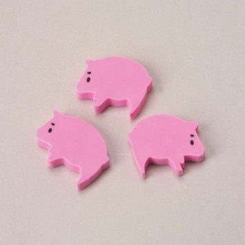 US Toy Company LM161 Mini Pig Erasers#44; 144Pack