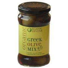 Divina Greek Olive Mix, Size: Per Lb (Pack of 10)