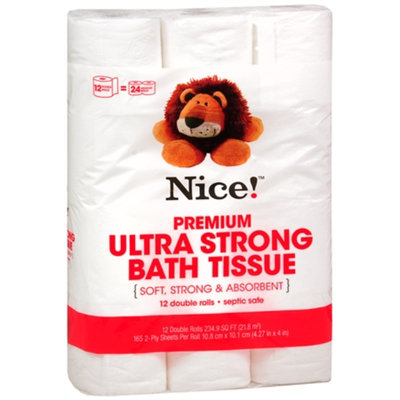 Nice! Bath Tissue, 12 ea