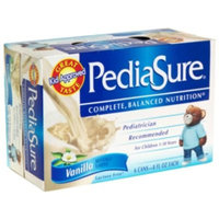 PediaSure Nutrition Drink, Vanilla, 6 - 8 fl oz (237 ml) cans [1.5 qt (1.42 l)]