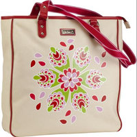 Hadaki Coated Canvas City Tote Jazz Ruby