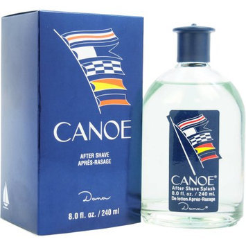 Canoe by Dana, 8 oz After Shave Splash for Men