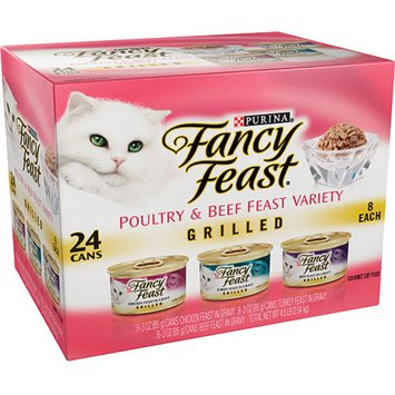 Fancy Feast Grilled Gourmet Cat Food