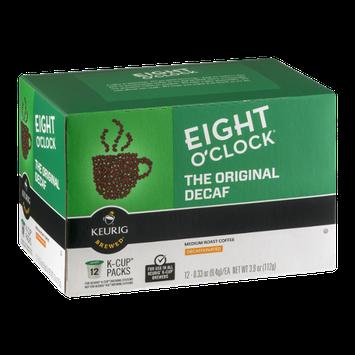 Eight O'clock Medium Roast Coffee Decaffeinated K-Cups - 12 CT