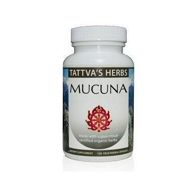 Premium Mucuna Tattva's Herbs LLC. 120 VCaps