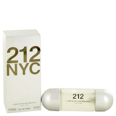212 by Carolina Herrera Eau DeToilette Spray 1 oz