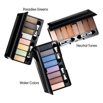 Avon Eye Shadow Set Eight in One Palette Paradise Green 8 in1 huit en une palette yeux