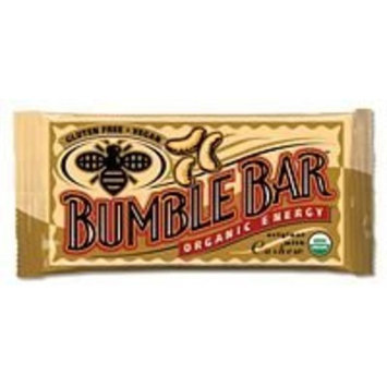 Bumble Bar Inc Energy Bar, Og, Org W/Cashw, 1.40-Ounce (Pack of 12) ( Value Bulk Multi-pack)