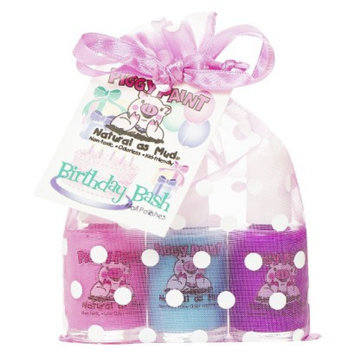 Rockhouse Industries, Inc Piggy Paint Birthday Bash Non-Toxic Nail Polish Set