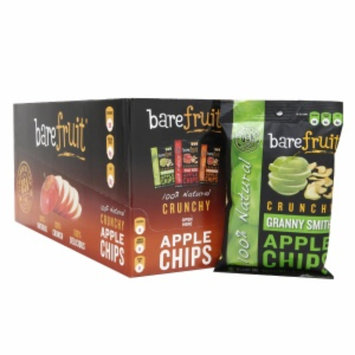 Bare Fruit 100% Natural Crunchy Apple Chips, Granny Smith, 16.9 oz