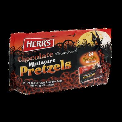 Herr's® Miniature Chocolate Coated Pretzels