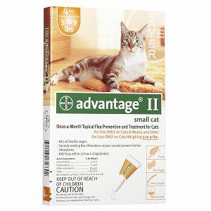 Advantage II Flea Prevention for Small Cats