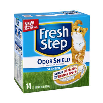 Fresh Step Odor Shield Scented Scoopable Cat Litter