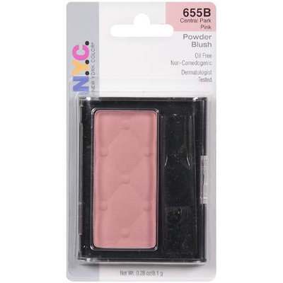 NYC New York Color N.Y.C. New York Color Cheek Glow Single Pan Blush, Park Avenue Plum 653A