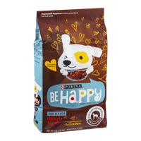 Purina Be Happy Adult Dog Food Beef Flavor