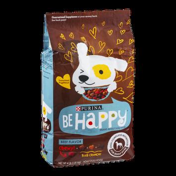Purina Be Happy Adult Dog Food Beef Flavor
