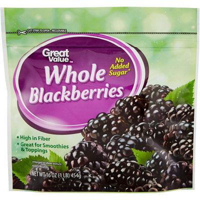 Great Value Blackberries, 16 oz