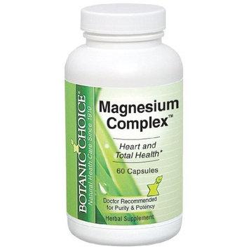 Botanic Choice -Magnesium, Complex Capsules, 60 Count