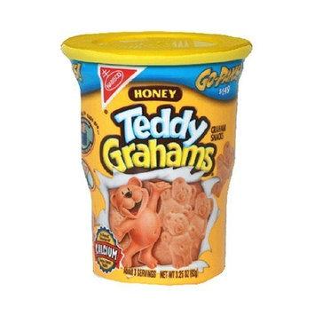 Teddy Graham Honey Graham Snacks, 3.25-Ounce Go-Paks! (Pack of 8)