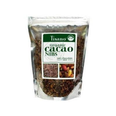 100% Organic Cacao Nibs 16oz by Tisano
