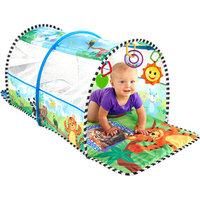 Baby Einstein 2-in-1 Safari Adventure Gym and Tunnel