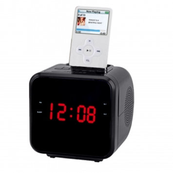 Supersonic iPhone/ iPod Dock with Clock Radio