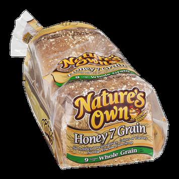 Nature's Own Honey 7 Grain Bread