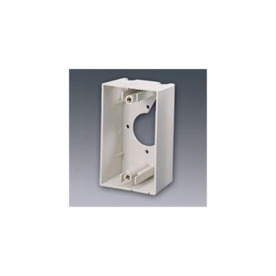 C2G Cables To Go 03838 SINGLE GANG WALL BOX IVORY