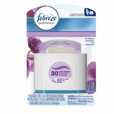 Febreze Set & Refresh Air Freshener Spring & Renewal