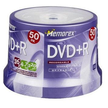 Memorex 4.7GB 50-pk. 16X DVD+R Spindle