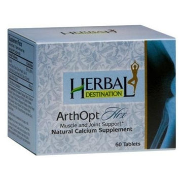 Herbal Destination ArthOpt Hrx - Joint Support , Natural Calcium Supplement .