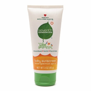 Seventh Generation Wee Generation Baby Sunscreen SPF 30
