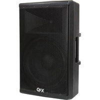 QFX Elite Series Speaker System - 500 W RMS - Stand Mountable, Pole-mountable - Wireless Speaker(s) - Black - 40 Hz - 20 kHz - SD - Bluetooth - USB - FM Radio, Wireless Audio Stream, Remote, Handle