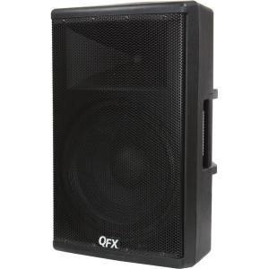 QFX Elite Series Speaker System - 500 W RMS - Stand Mountable, Pole-mountable - Wireless Speaker(s) - Black - 40 Hz - 20 kHz - SD - Bluetooth - USB - FM Radio, Wireless Audio Stream, Remote, Handle