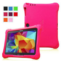Fintie Ultra Light Weight Shock Proof Kids Friendly Case for Samsung Galaxy Tab 3 10.1 and Tab 4 10.1 Tablet, Magenta