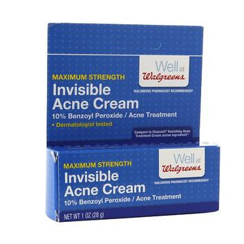 Walgreens Maximum Strength Invisable Acne Cream Reviews 2020