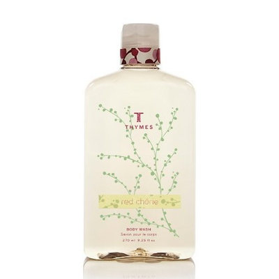 Thymes Body Wash, Red Cherie, 9.25-Ounce Bottle