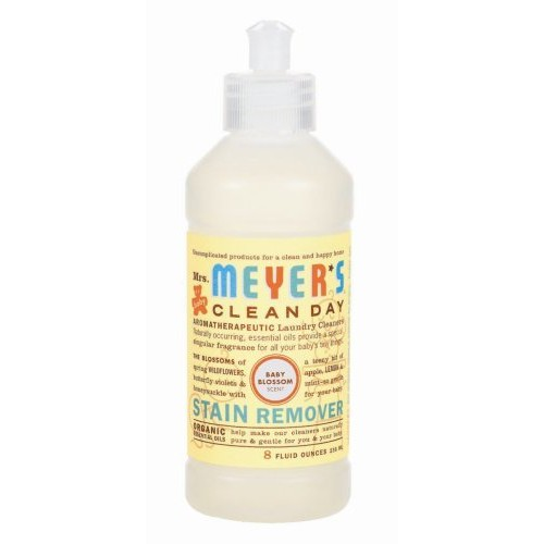 Mrs. Meyer's Clean Day Stain Remover, Baby Blossom, 8-Ounce Bottles (Case of 6)