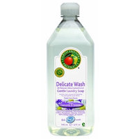 Earth Friendly Products Delicate Wash 3X, Chamomile & Lavender, 32-Ounce Bottle (Pack of 6)