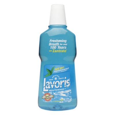 Lavoris Mouthwash Peppermint