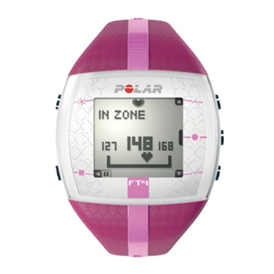 Polar FT4F Heart Rate Monitor, Purple & Pink, 1 ea