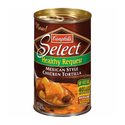 Campbell's® Healthy Request Mexican Style Chicken Tortilla Soup