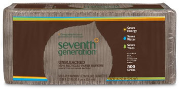 Seventh Generation SEV13705 Recycled Napkins 1- Ply 11.5 in. x 12.5 in. 500- PK Natural