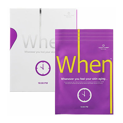 When Essence Mask - 10:00 PM 4 x 0.811 oz Mask Packets
