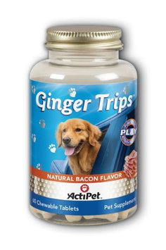 Ginger Tips Bacon ActiPet 60 Chewable