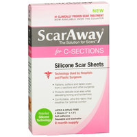 ScarAway for C-Sections