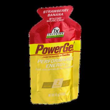 PowerGel Performance Energy Gel Strawberry Banana