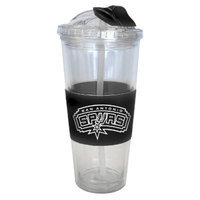 Boelter Brands NBA 2 Pack San Antonio Spurs No Spill Straw Tumbler -