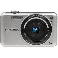 Samsung SL605 Silver 12.2MP Digital Camera w/ 5x Optical Zoom, 2.7