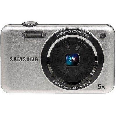 Samsung SL605 Silver 12.2MP Digital Camera w/ 5x Optical Zoom, 2.7